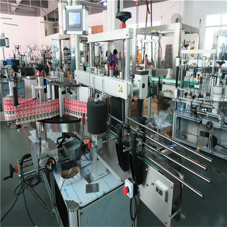 China 350ML Automatic Glass Bottle Labeling Machine 190mm Height Max supplier