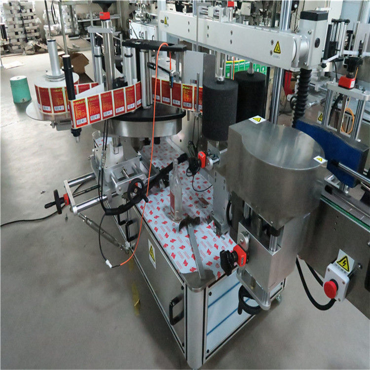 China Sticky Automatic Sticker Labeling Machine , Auto Labeler Machine For Bevarage / Drinks supplier