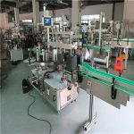 Round Pet Bottle Labeling Machine , Automatic Label Applicator Machine