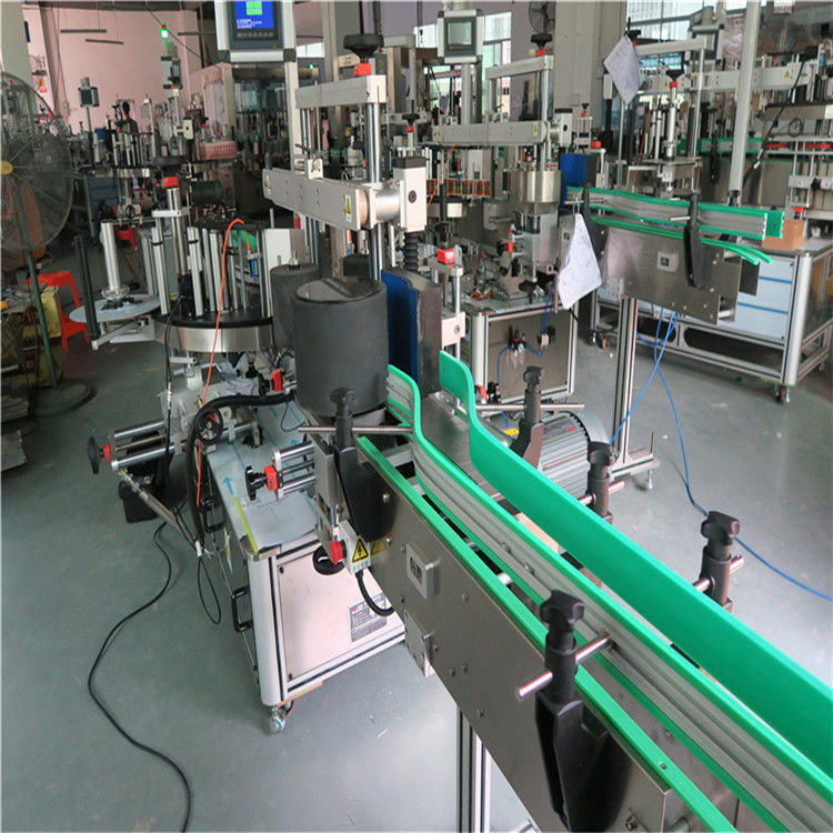 China Double Side Self Adhesive Sticker Bottle Labeling Machine 190mm Height Max supplier