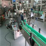Double Side Self Adhesive Sticker Bottle Labeling Machine 190mm Height Max