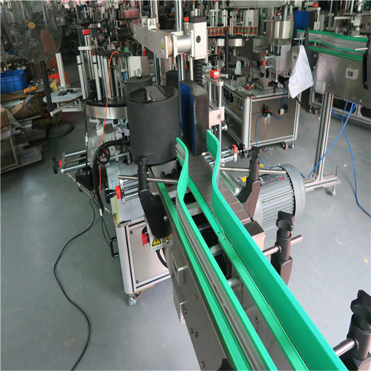 China Two Automatic Sticker Labeling Machine Dual Sided Labeler 6000-8000 B/H supplier
