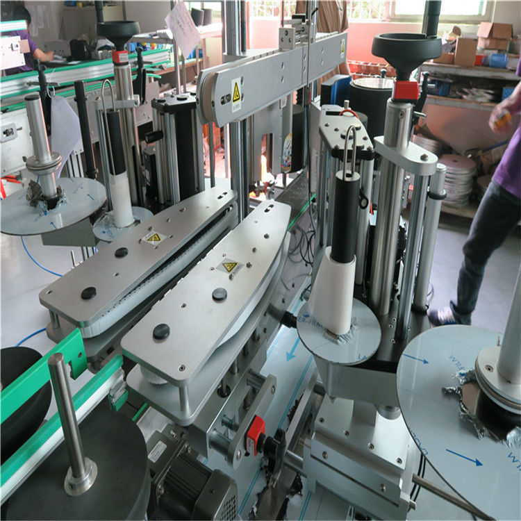 China Full Automatic Sticker Labeling Machine , Water Bottle Front And Back Labeling Machine supplier