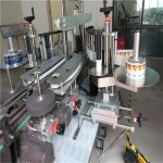 Single / Double Side Round Bottle Sticker Label Applicator Machine