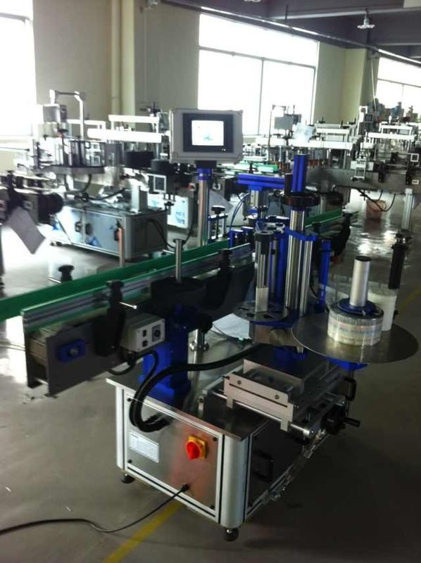 China Full Automatic Sticker Label Applicator , Bottle Labeling Machine With CE Certification supplier
