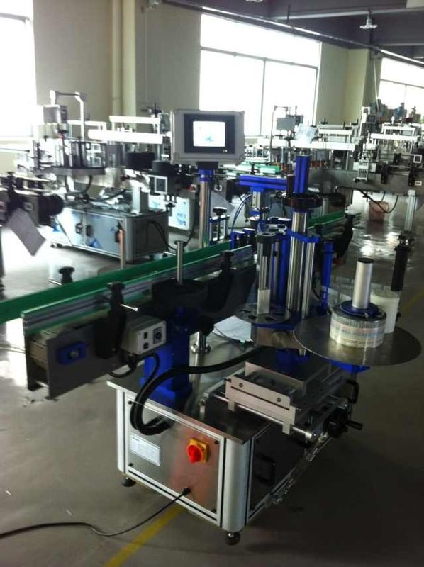 Full Automatic Sticker Label Applicator, Bottle Labeling Machine