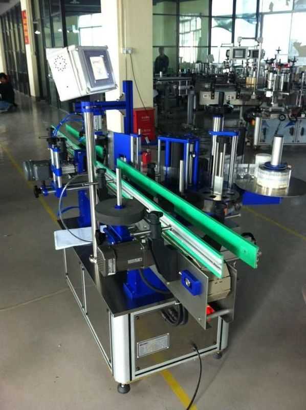 China 1500W Power Round Bottle Labeling Machine For Beverage / Food / Chemical supplier