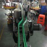 CE Sticker Label Applicator , Wine Bottle Labeling Machine Servo Motors Driving