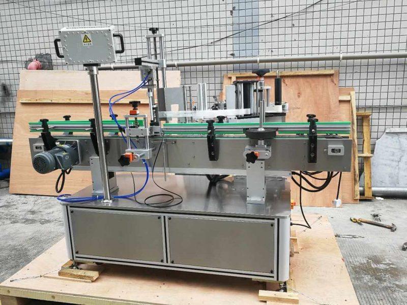 China Pawpaw / Guava Round Bottle Sticker Labeling Machine For Drink Field supplier