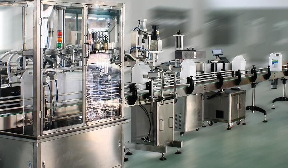 High Speed Double Side Sticker Label Applicator For Round / Square / Flat Bottles