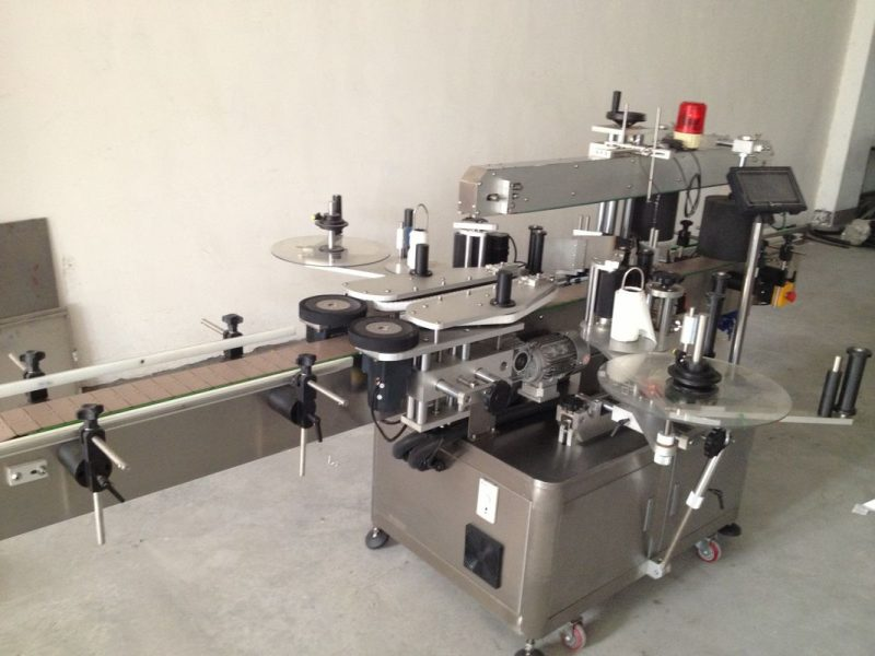 China Beer Bottle Double Side Sticker Labelling Machine , Automatic Sticker Labeling Machine supplier