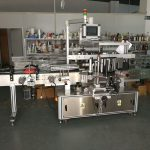 Self Adhesive Sticker Flat Bottle Labeling Machine High Speed 5000-1000B/H