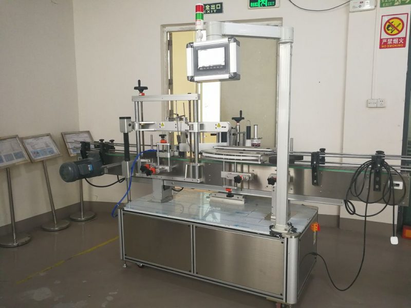 China Self Adesive Single-Side Automatic Labeling Machine 380 / 220V 50HZ 2300W supplier
