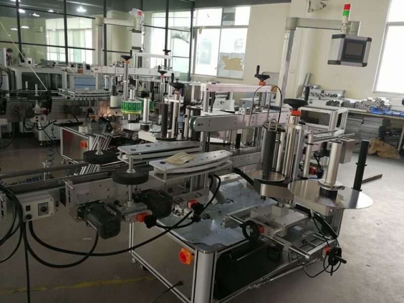 China High Speed Dual Corner Seal Labeling System for Pharmaceutical Cartons supplier