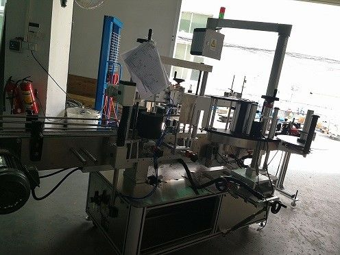 Double Side Automatic Sticker Labeling Machine High Accuracy