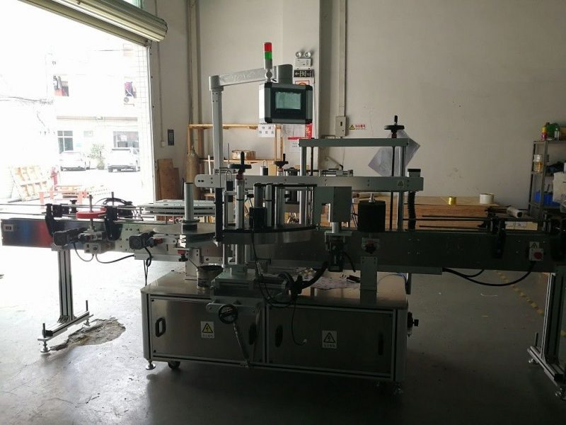 China Two Sides Square Bottle Labeling Machine High Precision 50HZ supplier