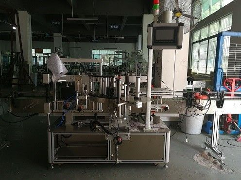 Double Side Plastic Bottle Labeling Machine / Automatic Bottle Labeler