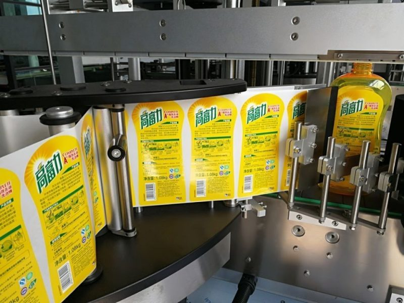 China Full Automatic Sticker Labeling Machine pressure sensitive front / back and wrap labeler supplier
