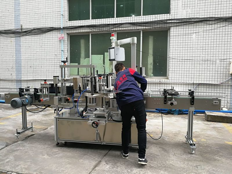 China Full Automatic Water Bottle Labeling Machine for Glass / PET Bottle supplier