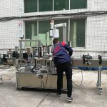 Fully Automatic Water Bottle Labeling Machine For Glass / PET Bottle