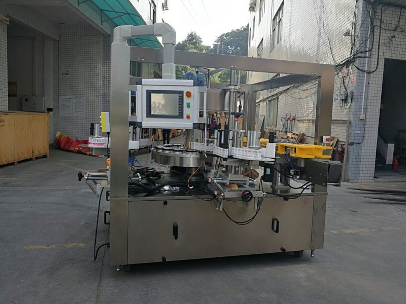 China High Speed Rotary Sticker Labeling Machine With Filling Machine Options Belt supplier