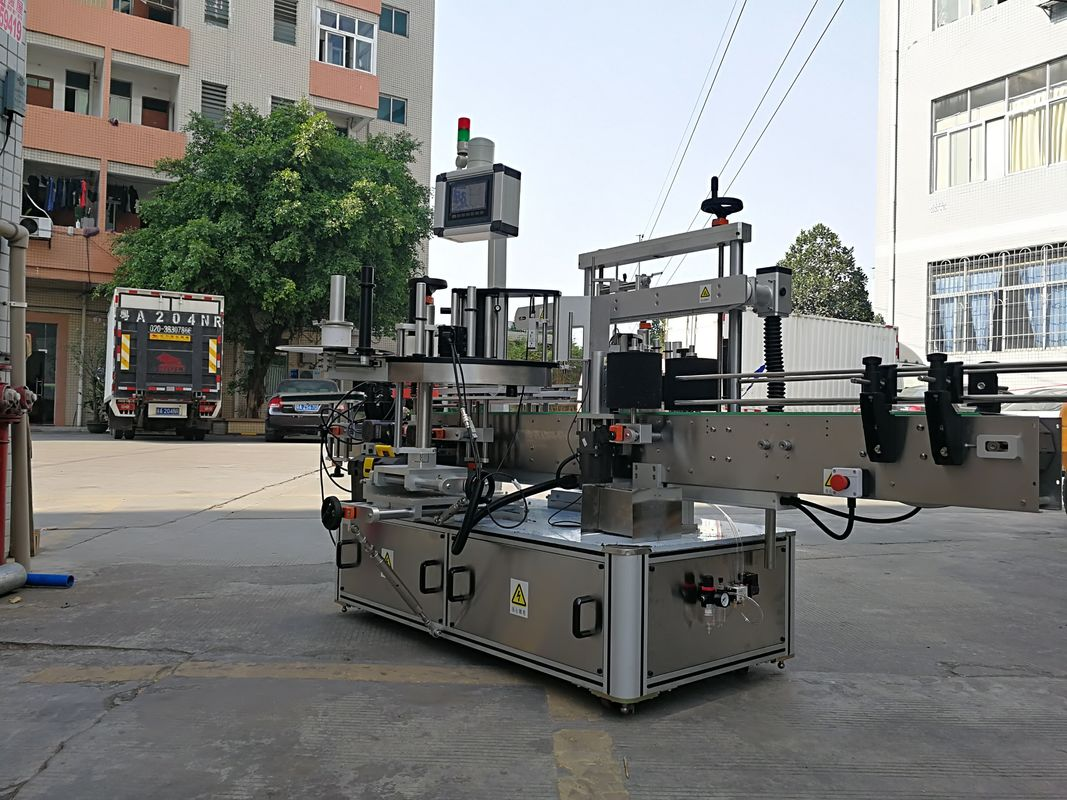 High-Speed Automatic Three Side Square Bottle Label Applicator Machine