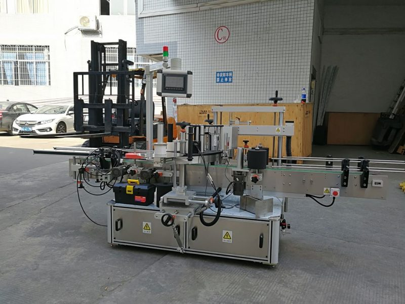 China CE Automatic Sticker Labeling Machine For Small Carton Corners Sealing supplier