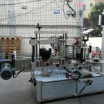 Self Adhesive Cylindrical / Oval Bottle Labeling Machine with PLC Touch Screen