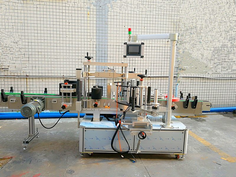 China Simple Automatic front and back Labeling Machine With Double Side supplier