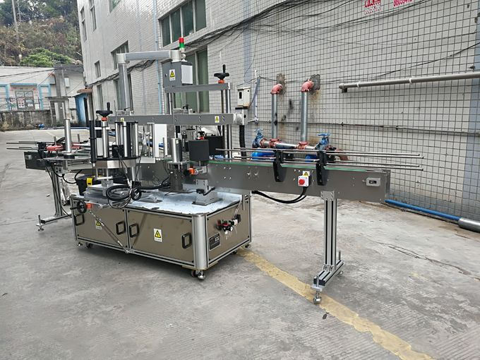 High Accuracy Self-Adhesive Labeling Machine For Plastic Bottles