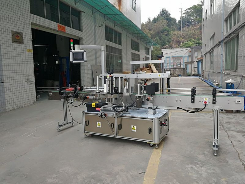 China Three Sides Automatic Square Bottle Labeling Machine Electric Driven Type supplier