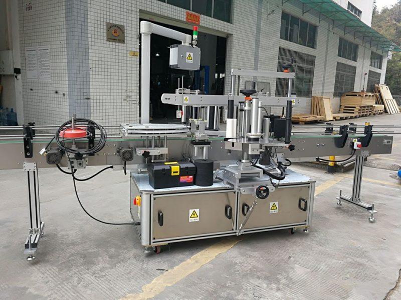 China Full Automatic Carton Corner Sealing Sticker Labeling Machine 220V 50HZ 1200W supplier