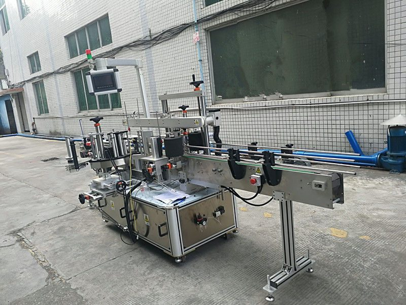 China Self Adhesive Sticker Double Sided Bottle Labeling Machine Full Automatic supplier